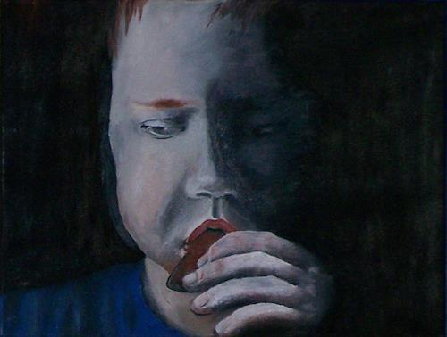 sikis, Alice whit bread/Alice z chlebem/Alice mit brot, Menschen: Porträt