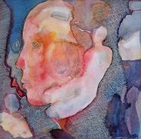 Monika-Ploghoeft-Menschen-Gesichter-Fantasie-Moderne-Andere-Neue-Figurative-Malerei