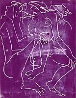 Monika-Ploghoeft-Menschen-Paare-Gefuehle-Liebe-Moderne-Andere-Neue-Figurative-Malerei