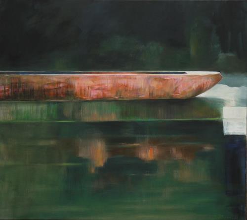 Jürgen Büse Filzen, Große Ruhe, Natur: Wasser, Geschichte, Expressionismus