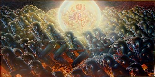 . Angerer der Ältere, Das Licht der Welt I, Fantasie, Glauben, Gegenwartskunst