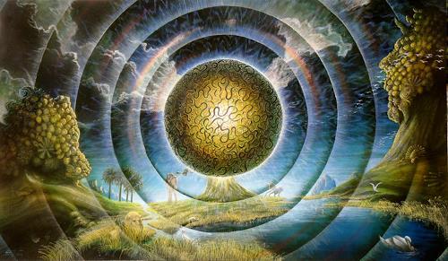 . Angerer der Ältere, Baum der Erkenntnis, Fantasie, Glauben, Manierismus
