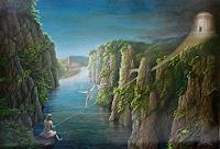 .-Angerer-der-aeltere-Landschaft-Sommer-Fantasie-Gegenwartskunst-Gegenwartskunst