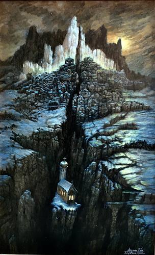 . Angerer der Ältere, Christliches Abendland 2020, Religion, Landschaft: Berge, Gegenwartskunst, Abstrakter Expressionismus