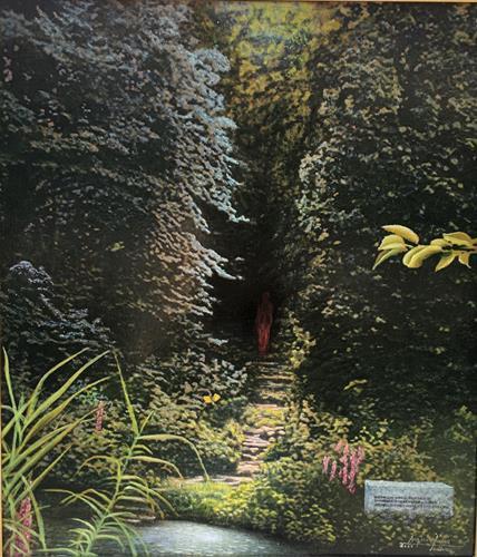 . Angerer der Ältere, Des Waldes Dunkel, Fantasie, Landschaft: Herbst, Gegenwartskunst