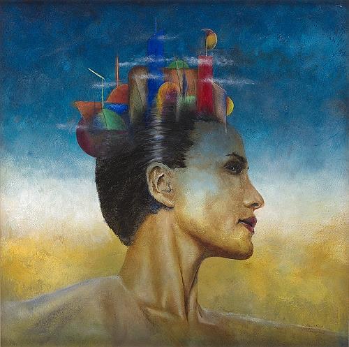 Thomas Brill, Hauptstadt, Abstraktes, Menschen: Gesichter, Moderne, Expressionismus