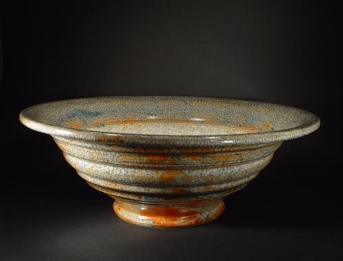 shino glasierte sch ssel von hermans keramik dekoratives keramik. Black Bedroom Furniture Sets. Home Design Ideas