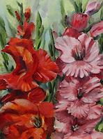 Sabine-Schramm-Pflanzen-Blumen-Gegenwartskunst--Gegenwartskunst-