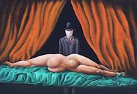 Peter-Hutter-Akt-Erotik-Akt-Frau-Menschen-Frau-Gegenwartskunst-Postsurrealismus
