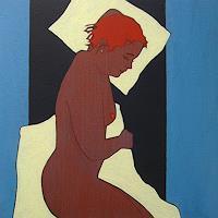 Peter-Klint-Akt-Erotik-Akt-Frau-Menschen-Frau-Gegenwartskunst--Gegenwartskunst-