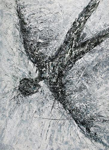 Dierk Osterloh, Ikarus, Symbol, Gesellschaft, Neo-Expressionismus