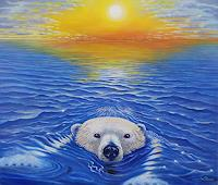 Wolfgang-Rose-Natur-Wasser-Tiere-Wasser-Moderne-Naturalismus