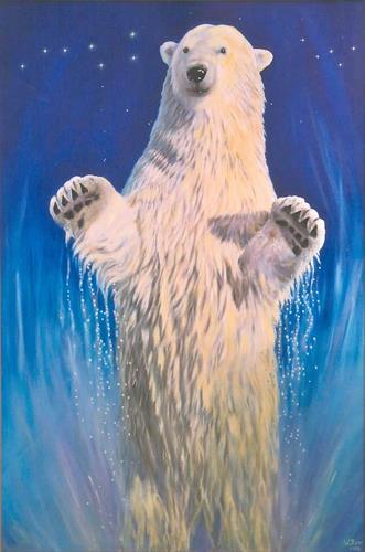 Wolfgang Rose, Der große Bär, Fantasie, Diverse Tiere, Realismus