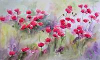 Gilberte-Vermeulen-Pflanzen-Blumen-Moderne-Impressionismus