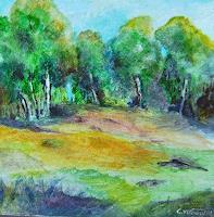 Gilberte-Vermeulen-Landschaft-Fruehling-Dekoratives