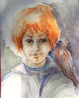 Gilberte-Vermeulen-Menschen-Kinder-Fantasie-Moderne-Expressionismus