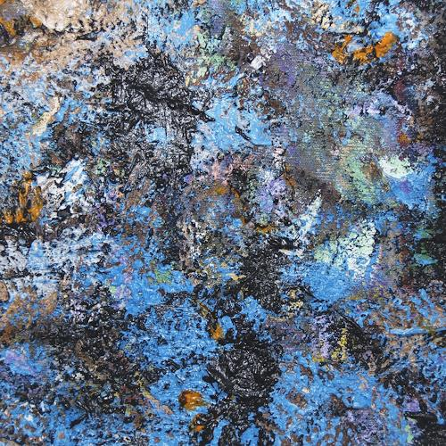 Jens Jacobfeuerborn, Miniatur 58, Abstraktes, Abstrakte Kunst