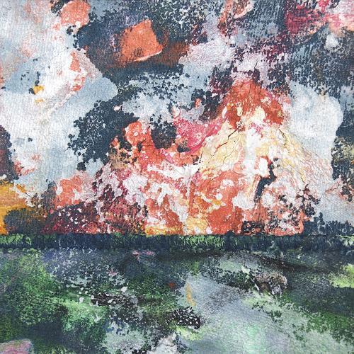 Jens Jacobfeuerborn, Miniatur 60, Abstraktes, Diverse Landschaften, Abstrakte Kunst