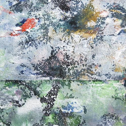 Jens Jacobfeuerborn, Miniatur 61, Abstraktes, Diverse Landschaften, Abstrakte Kunst