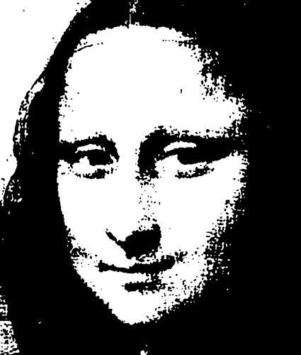 Jens Jacobfeuerborn, Mona Lisa, Menschen: Modelle, Menschen: Porträt, Pop-Art