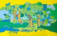 Jens-Jacobfeuerborn-Pflanzen-Baeume-Natur-Diverse-Moderne-Pop-Art
