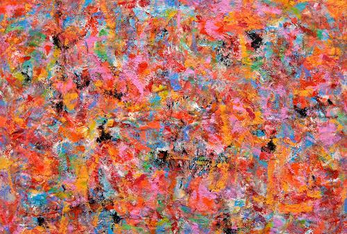 Jens Jacobfeuerborn, Farbe sucht sich Ihren Weg, Abstraktes, Abstrakte Kunst