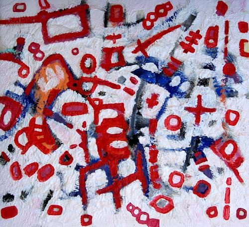 Jens Jacobfeuerborn, space traffic, Abstraktes, Diverse Weltraum, Abstrakte Kunst