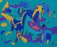 Jens-Jacobfeuerborn-Abstraktes-Diverse-Tiere