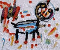 Jens-Jacobfeuerborn-Fantasie-Diverse-Tiere-Moderne-Naive-Kunst