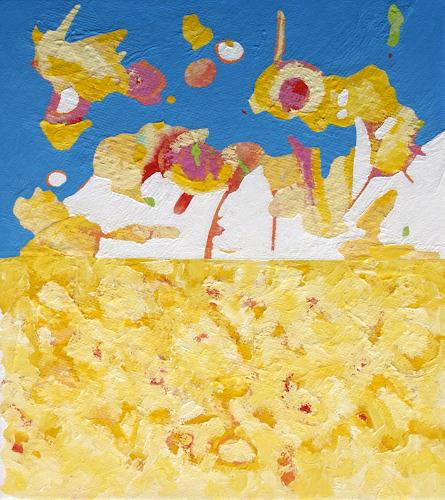 Jens Jacobfeuerborn, Verstrahlt/4, Abstraktes, Diverse Landschaften, Moderne