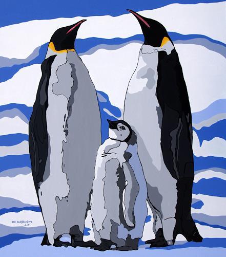 Jens Jacobfeuerborn, Kaiserpinguine, Diverse Tiere, Tiere: Wasser, Moderne