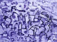 Jens-Jacobfeuerborn-Abstraktes-Menschen-Gruppe-Moderne-Abstrakte-Kunst