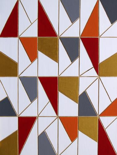 Jens Jacobfeuerborn, O.T. (Holzdruckstock), Abstraktes, Fantasie, Konstruktivismus