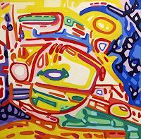 Jens-Jacobfeuerborn-Abstraktes-Verkehr-Auto-Moderne-Abstrakte-Kunst