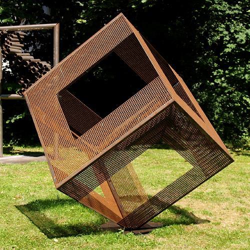Jens Jacobfeuerborn, Würfel 1, Abstraktes, Dekoratives, Moderne