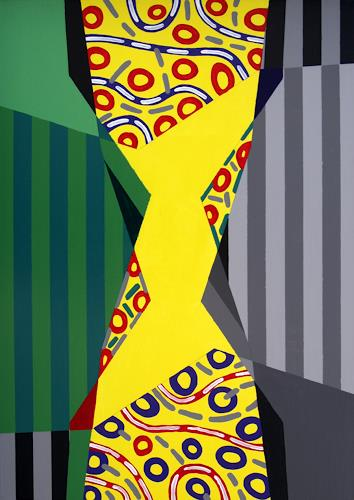 Jens Jacobfeuerborn, O.T., Abstraktes, Fantasie, Abstrakte Kunst, Abstrakter Expressionismus