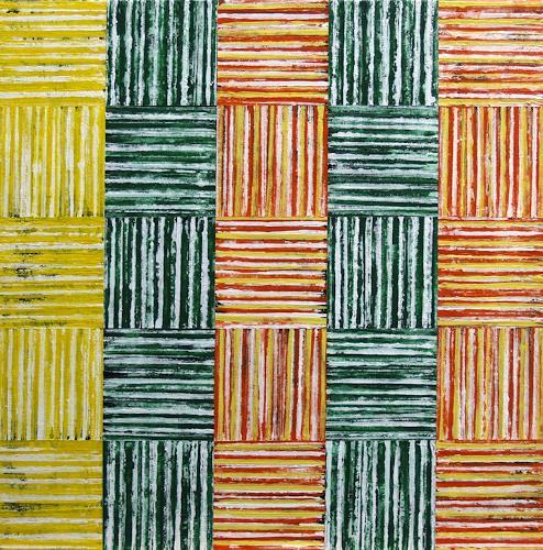 Jens Jacobfeuerborn, 25/2, Abstraktes, Dekoratives, Abstrakte Kunst
