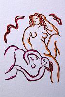 Jens-Jacobfeuerborn-Akt-Erotik-Akt-Frau-Dekoratives-Moderne-Moderne
