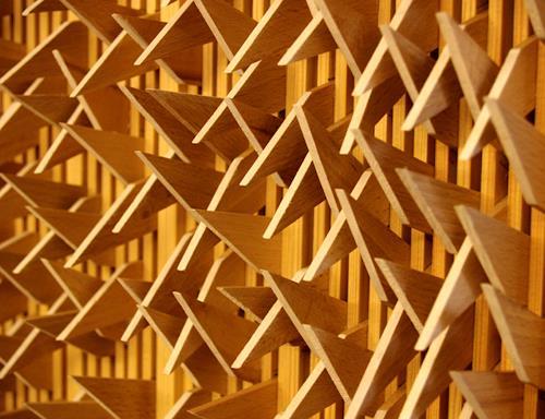 Jens Jacobfeuerborn, Holzobjekt 2 (Ausschnitt), Abstraktes, Dekoratives, Gegenwartskunst