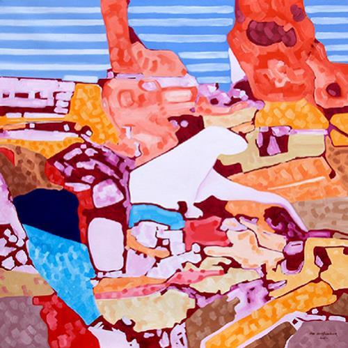 Jens Jacobfeuerborn, Fischotterphantom, Diverse Tiere, Abstraktes, Moderne