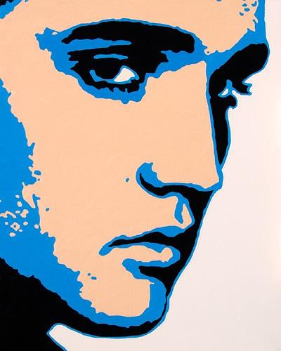 Jens Jacobfeuerborn, Elvis Presley, Menschen: Porträt, Pop-Art