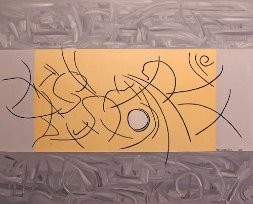 Jens Jacobfeuerborn, Sonnenaufgang im grau, Abstraktes, Abstrakte Kunst