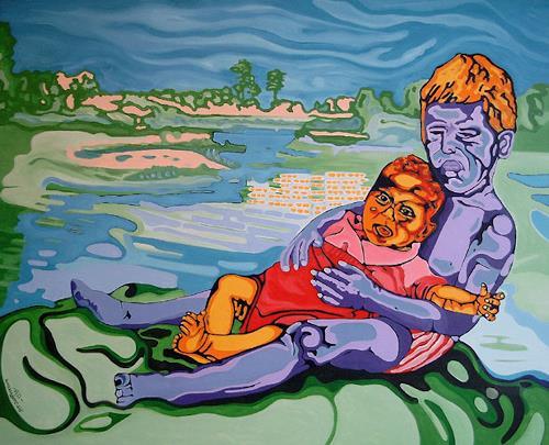 Jens Jacobfeuerborn, Babysitting, Menschen: Kinder, Gegenwartskunst