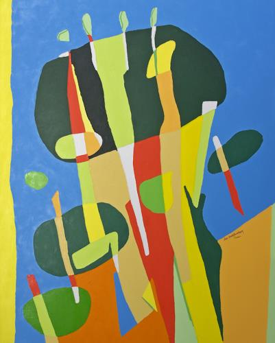 Jens Jacobfeuerborn, Atompilz meiner Fantasie, Abstraktes, Fantasie, Pop-Art