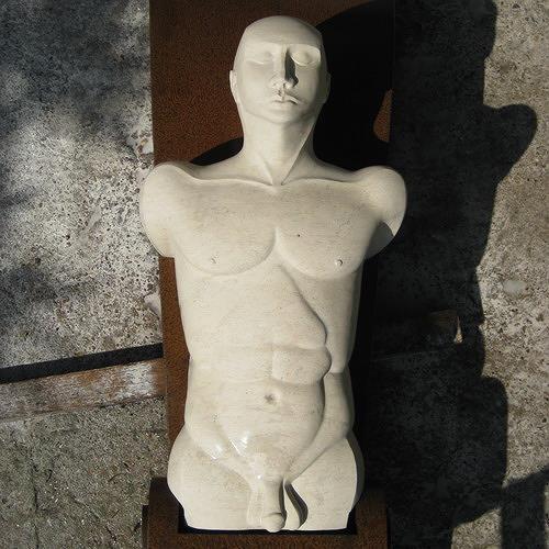 Thomas Lehnigk, CALISTO, Akt/Erotik: Akt Mann, Abstraktes, Art Déco