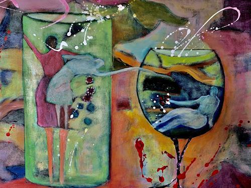 Ilona Felizitas Hetmann, Im Kelch, Abstraktes, Abstrakte Kunst