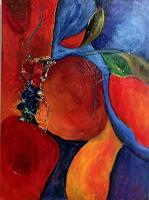 Ilona-Felizitas-Hetmann-Abstraktes-Pflanzen-Blumen