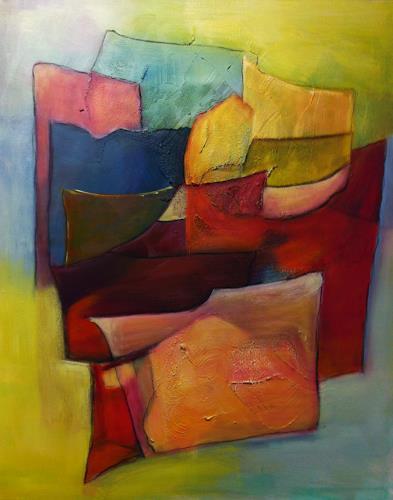 Ilona Felizitas Hetmann, Gedanken, Abstraktes, Bewegung, Abstrakte Kunst, Expressionismus