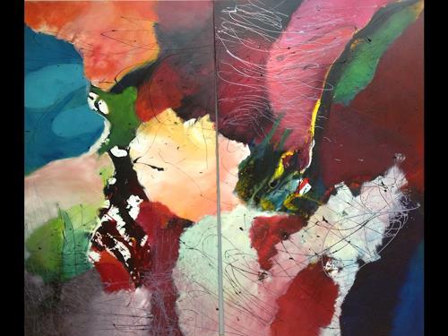 Ilona Felizitas Hetmann, Ohne Titel, Abstraktes, Abstrakte Kunst
