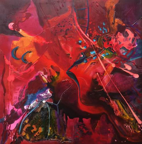 Ilona Felizitas Hetmann, Energie, Abstraktes, Freizeit, Abstrakte Kunst, Abstrakter Expressionismus